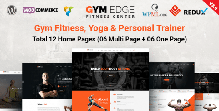 GYM EDGE V3.4 – GYM FITNESS WORDPRESS THEME