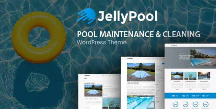 JELLYPOOL V1.2 – POOL MAINTENANCE & CLEANING THEME