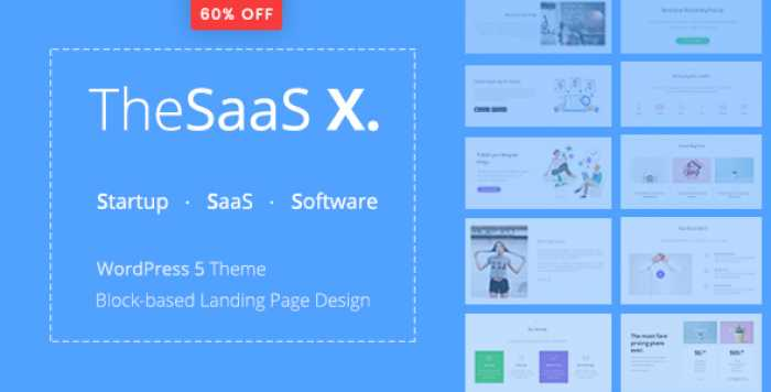 THESAAS X V1.0.0 – RESPONSIVE SAAS, STARTUP & BUSINESS