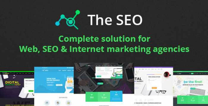 THE SEO V2.9.3 – DIGITAL MARKETING AGENCY WORDPRESS THEME