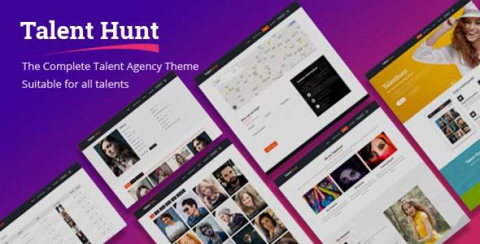 TALENT HUNT V1.0.5 – THEME FOR MODEL TALENT MANAGEMENT SERVICES