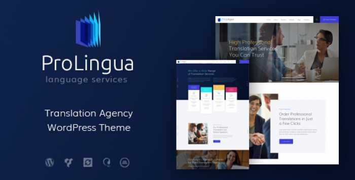 PROLINGUA V1.0 – TRANSLATION SERVICES WORDPRESS THEME