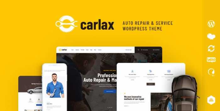 CARLAX V1.0.1 – CAR PARTS STORE & AUTO SERVICE THEME