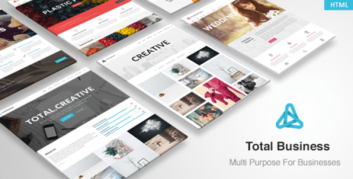 TOTAL BUSINESS – MULTI-PURPOSE BUSINESS HTML TEMPLATE