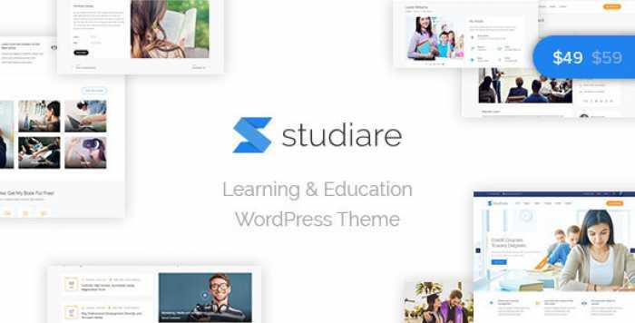 STUDIARE V1.0 – EDUCATION WORDPRESS THEME FOR UNIVERSITY