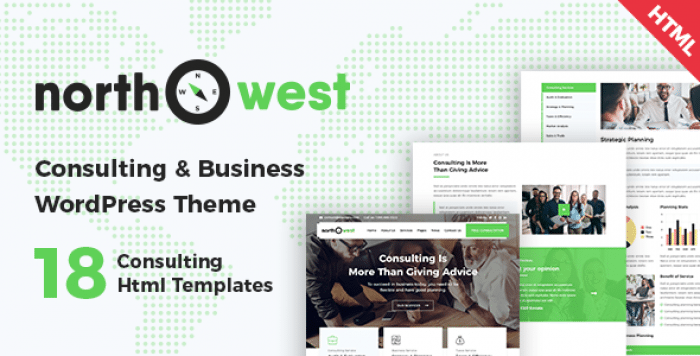 NORTHWEST – CONSULTING HTML TEMPLATE