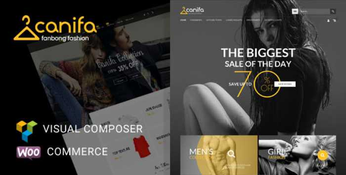 CANIFA V2.3 – FASHION RESPONSIVE WOOCOMMERCE THEME