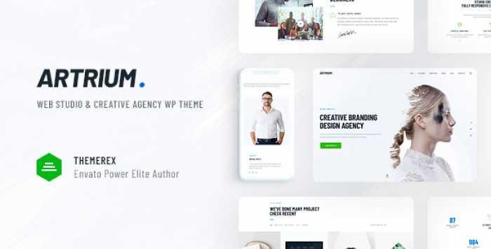 ARTRIUM V1.0 – CREATIVE AGENCY & WEB STUDIO THEME