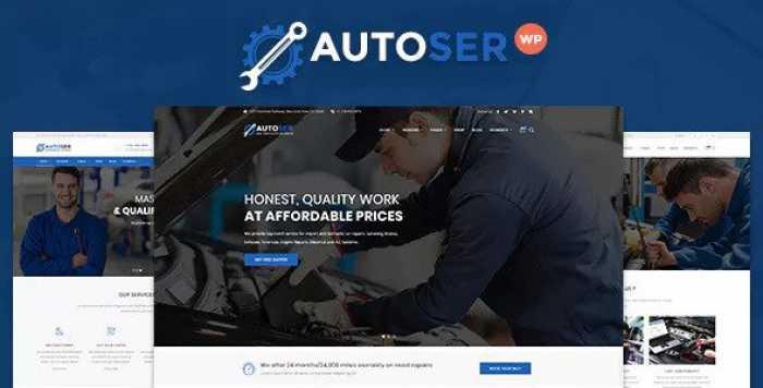 AUTOSER V1.0.3 – CAR REPAIR AND AUTO SERVICE THEME