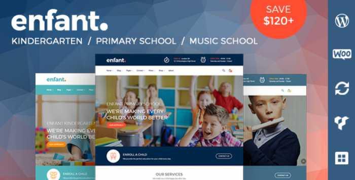 ENFANT V2.4 – SCHOOL AND KINDERGARTEN WORDPRESS THEME