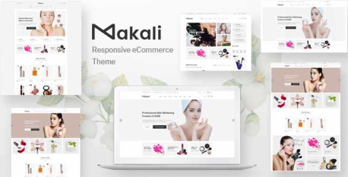 MAKALI V1.0.5 – COSMETICS & BEAUTY THEME
