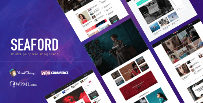 SEAFORD V1.0.1 – MULTI-PURPOSE MAGAZINE WORDPRESS THEME