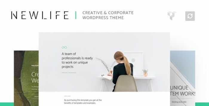 NEWLIFE V1.1 – CREATIVE & CORPORATE WORDPRESS THEME