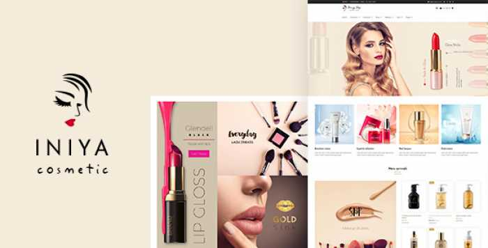 INIYA V1.2 – COSMETIC WORDPRESS THEME