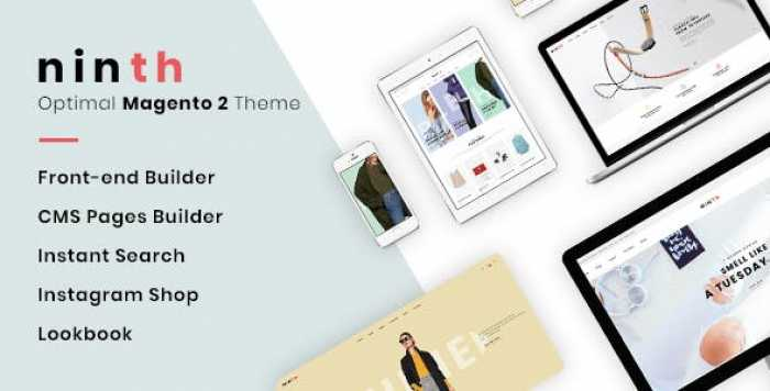 NINTH V1.1.2 – OPTIMAL MAGENTO 2 THEME