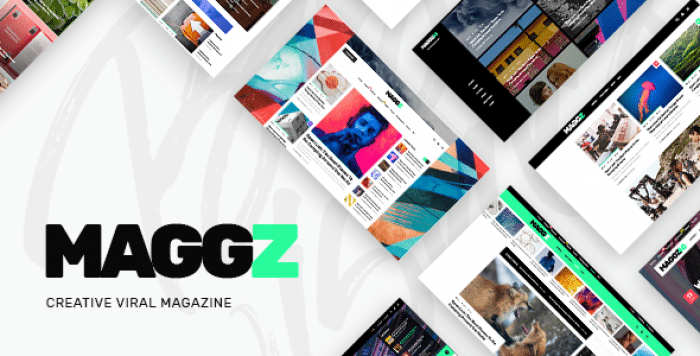 MAGGZ V1.2 – A CREATIVE VIRAL MAGAZINE AND BLOG THEME