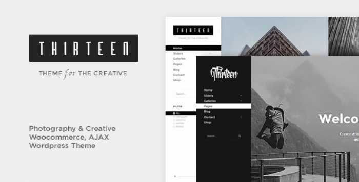 THIRTEEN V1.2.7 – PHOTOGRAPHY & CREATIVE WORDPRESS THEME
