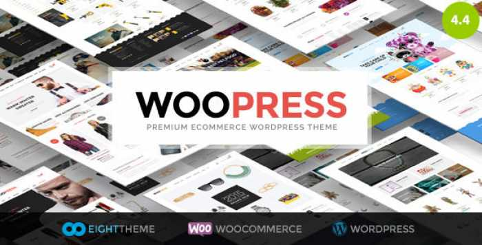 WOOPRESS V4.4 – RESPONSIVE ECOMMERCE WORDPRESS THEME
