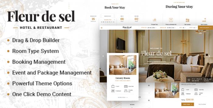 FLEURDESEL V2.0.1 – HOTEL BOOKING WORDPRESS THEME