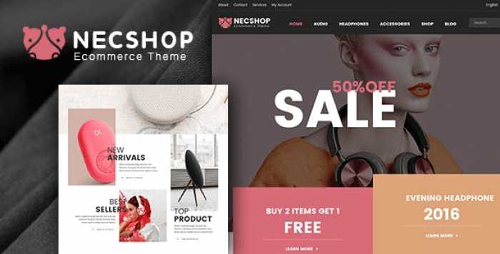 NEC SHOP V1.9 – HITECH RTL RESPONSIVE WOOCOMMERCE WORDPRESS THEME
