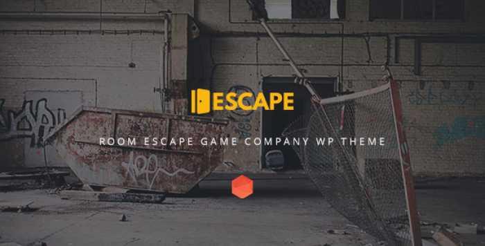 ESCAPE V2.0 – REAL LIFE ROOM ESCAPE GAME COMPANY WP THEME