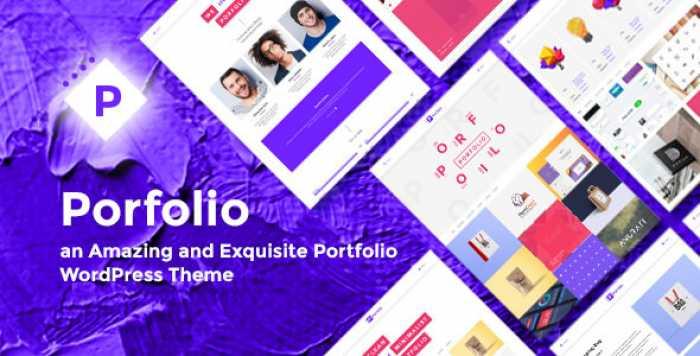 PORFOLIO V1.0 – CREATIVE AGENCY & PERSONAL PORTFOLIO THEME