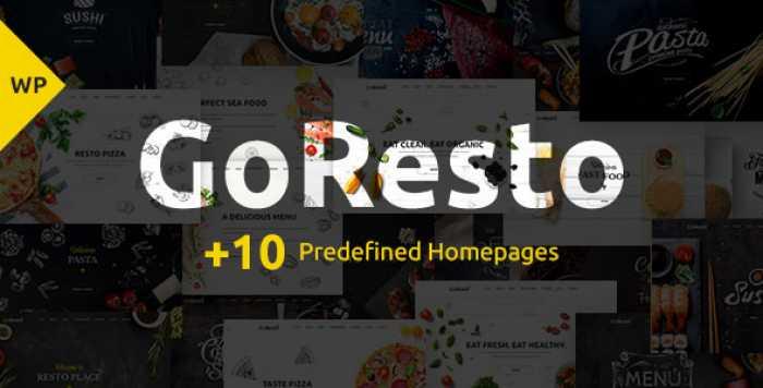 GORESTO V1.2 – MULTIPURPOSE RESTAURANT THEME