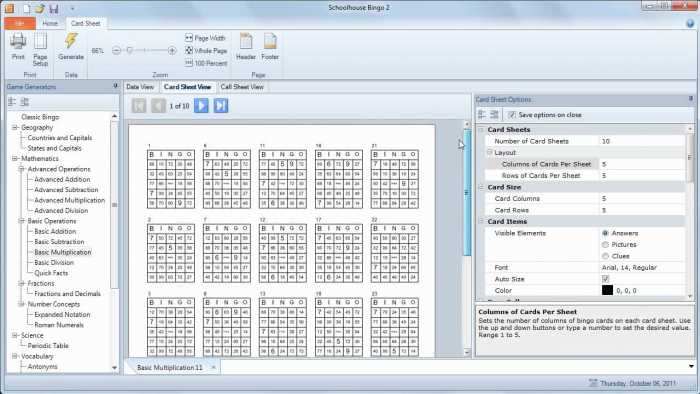 Schoolhouse Technologies Bingo Free Download