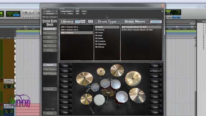 Steven Slate Drums SSD4 Sampler + Library Platinum VST Free Download