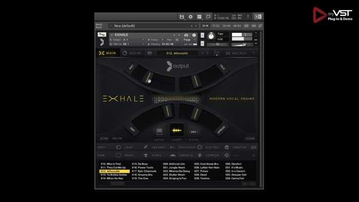 Exhale Vocal Engine VST KONTAKT Library Download