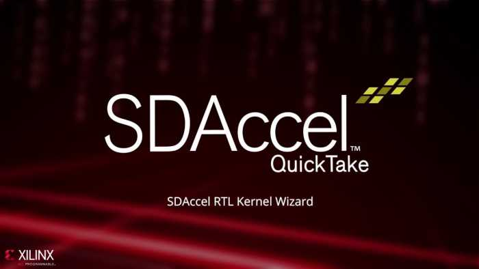 Xilinx SDAccel / SDSoC 2018 Free Download