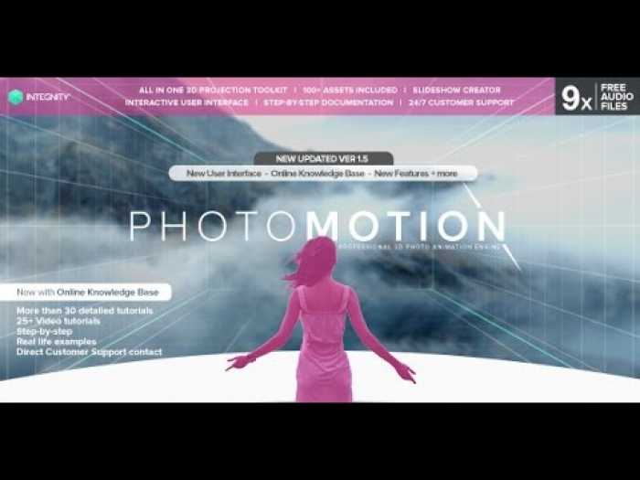 VideoHive PhotoMotion Professional 3D Photo Animator Download
