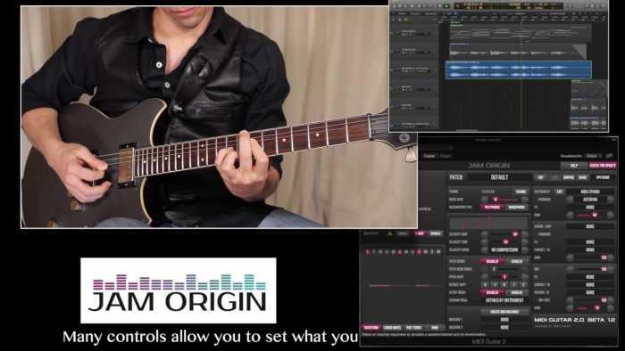 Jam Origin MIDI Guitar Free Download