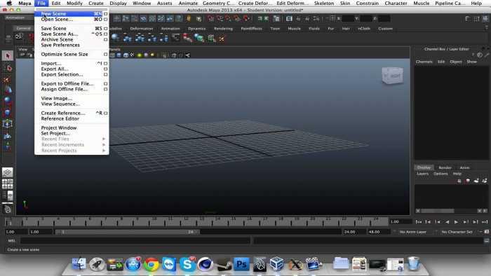 Download Autodesk Maya 2014 for Mac
