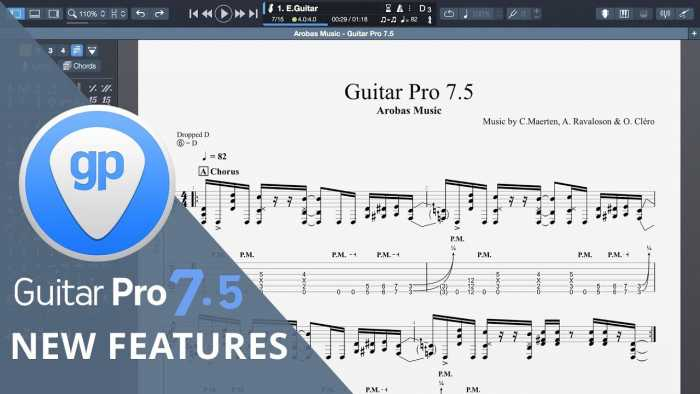 Guitar Pro 7.5 + Soundbank Download