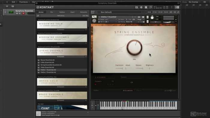 Symphony Essentials Percussion KONTAKT Library Download