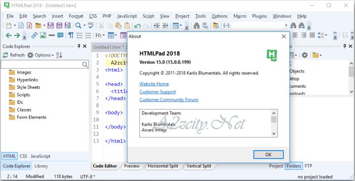 Blumentals HTMLPad Free Download