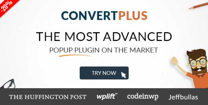 ConvertPlus v3.4.1 – Popup Plugin For WordPress