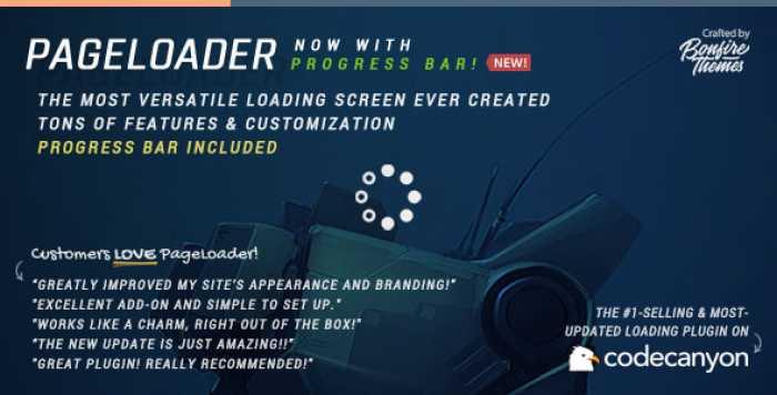 PageLoader v3.3 - Loading Screen and Progress Bar