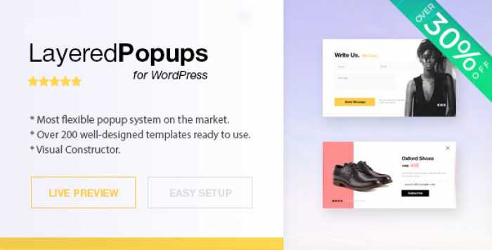 Layered Popups for WordPress v6.48