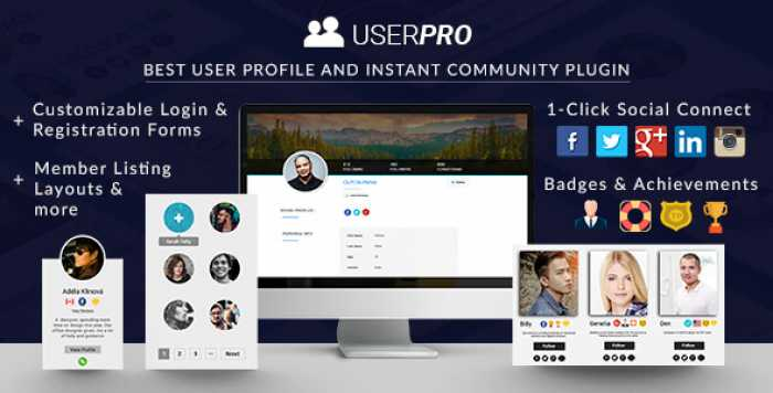 UserPro v4.9.30 - User Profiles with Social Login