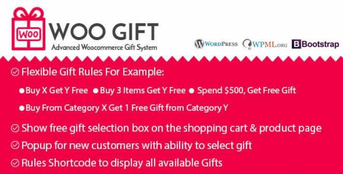 Woo Gift v4.7 – Advanced Woocommerce Gift Plugin