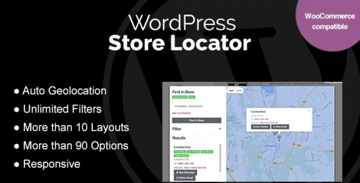 WordPress Store Locator v1.7.15