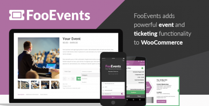 FooEvents for WooCommerce v1.7.32