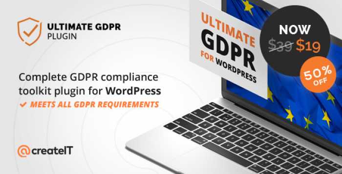 Ultimate GDPR v1.6.9 – Compliance Toolkit for WordPress