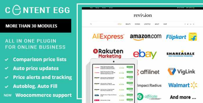 Content Egg v4.8.0 – all in one plugin for Affiliate, Price Comparison