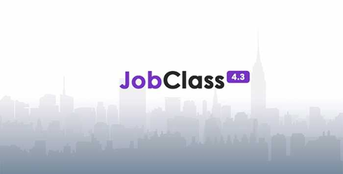 JobClass v4.3 – Geo Job Board Script – nulled