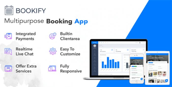 Bookify v1.2 – Multipurpose Booking App