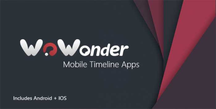 Mobile Native Social Timeline Applications v2.3 – For WoWonder Social PHP Script