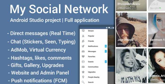 My Social Network (App and Website) v4.6.1